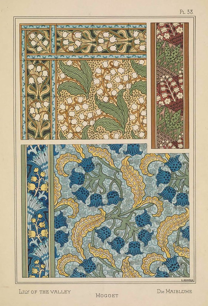 Image source: Plants and Their Application to Ornament (1896)